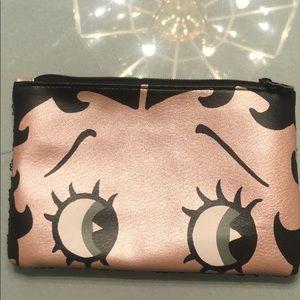 Betty Boop makeup bag